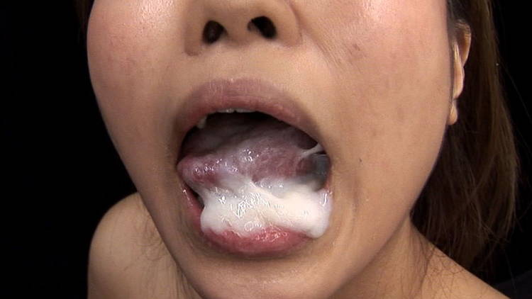 超特濃の精液を食べる4